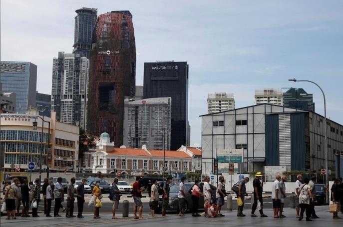 Số ca nhiễm Covid-19 tại Singapore tăng kỷ lục, Mỹ có dấu hiệu lạc quan