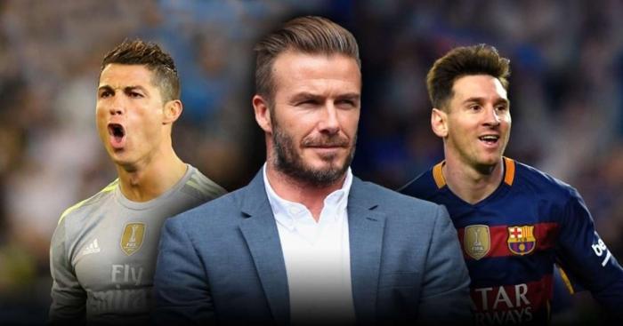 Beckham: Messi là duy nhất, Ronaldo không thể bằng