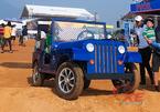 """Xe """"Jeep mui trần"""" tự chế đẹp long lanh của dân chơi Ninh Bình"""