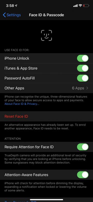 Cách tốt nhất để mở khóa iPhone khi đeo khẩu trang