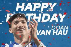 Heerenveen chúc mừng sinh nhật Đoàn Văn Hậu