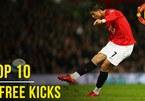 Top 10 cú sút phạt mẫu mực của MU tại Premier League
