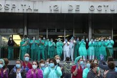 Coronavirus: Madrid's medical heroes in the fight of their lives