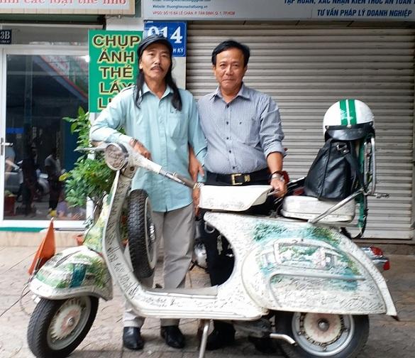 Ngắm những chiếc Vespa cổ giá tiền tỷ tại Việt Nam