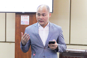 Ông Nguyễn Tử Quảng: 'Bkav dùng nước muối súc miệng để xét nghiệm Covid-19'