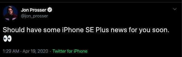 iPhone SE Plus màn hình lớn sẽ ra mắt cùng AirPods và MacBook Pro tháng tới?