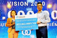 Bảo hiểm Fubon Life Việt Nam chi trả hơn 620 triệu đồng cho một khách hàng