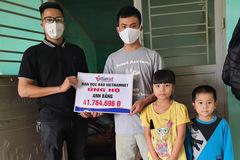 VietNamNet trao hơn 41 triệu cho người chồng goá vợ nuôi 3 con thơ