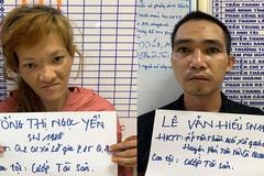 Cặp đôi kề dao vào cổ xe ôm để cướp xe