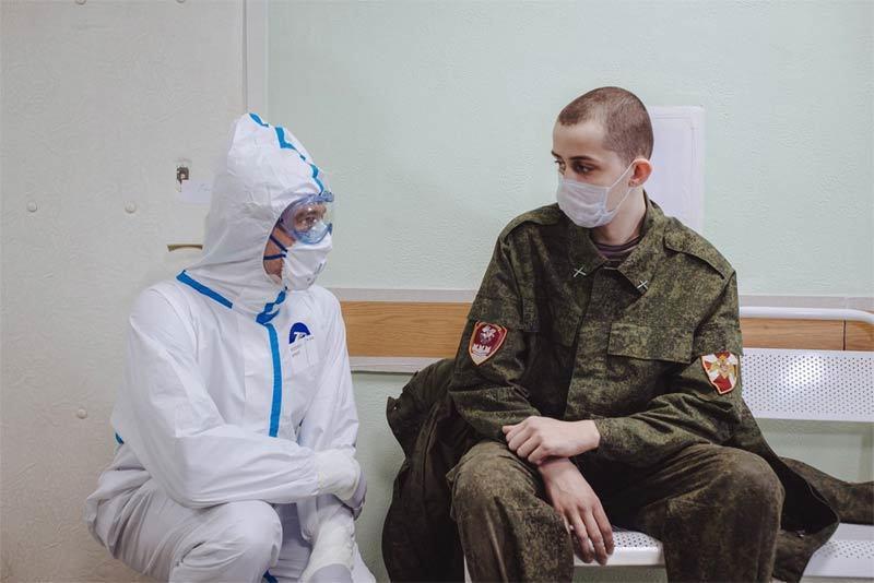 Sự khốc liệt nơi tuyến đầu chống Covid-19 ở Nga