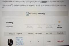 Mua hàng online: Không đặt được hàng, khách vẫn phải chịu thiệt