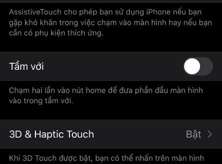 Cách xử lý khi iPhone chỉ hiển thị nội dung ở nửa dưới màn hình