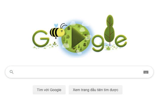 Ngày Trái Đất 2020: Google tôn vinh loài ong