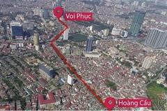 Xem xét, điều chỉnh chủ trương đầu tư đường 'đắt nhất hành tinh' ở Hà Nội