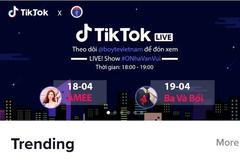 Bộ Y tế livestream trên TikTok kêu gọi phòng chống dịch