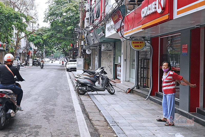 Cảnh sống chỉ thấy trong những ngày Hà Nội giãn cách xã hội