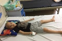 Quá đau đớn, cháu bé ung thư 5 tuổi tuyệt vọng kêu cứu