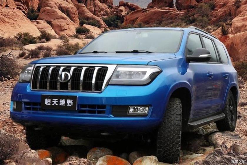 SUV Trung Quốc nhái Toyota Land Cruiser, giá rẻ hơn một nửa