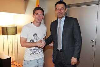 Messi có hẳn 'ngôi đền đấm bốc' Muhammad Ali tại nhà