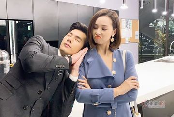 Dàn diễn viên vui nhộn hậu trường phim 'Tình yêu và tham vọng'