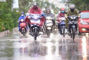 Dự báo thời tiết 24/4, Bắc Bộ đề phòng mưa đá, gió giật