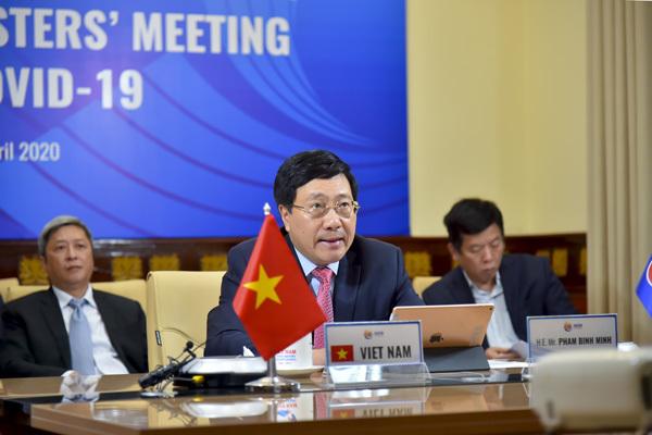 Phó Thủ tướng: Giữa đại dịch càng phải quan tâm đến hòa bình, an ninh khu vực