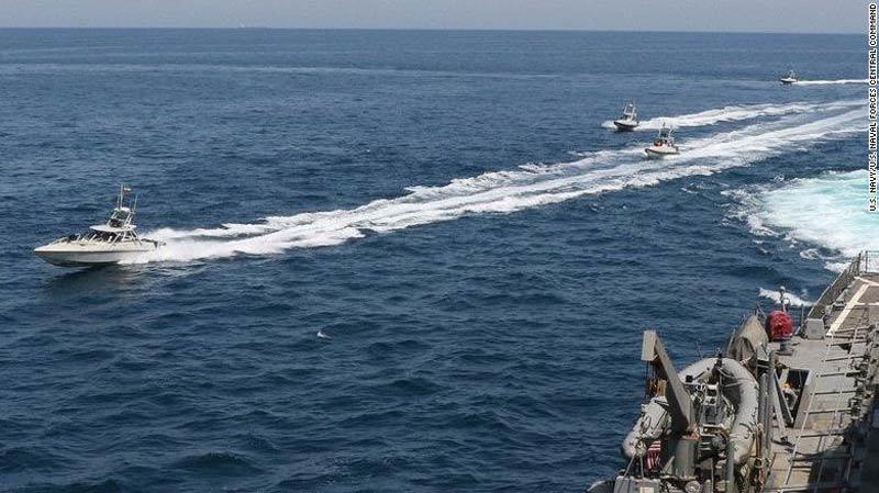 Điểm danh những vũ khí chiến hạm Mỹ dùng khi được lệnh tấn công Iran