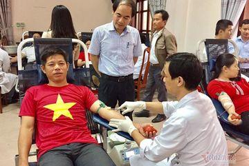 Người cán bộ phường 43 lần hiến máu cứu người ở Quảng Trị