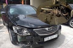 Tài xế lái xe Camry bỏ chạy sau tai nạn khiến cô gái nguy kịch ở Đà Nẵng