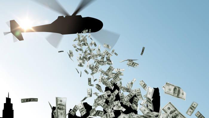 Châu Âu có thể lựa chọn 'trực thăng thả tiền; cho người dân trong lúc khủng hoảng