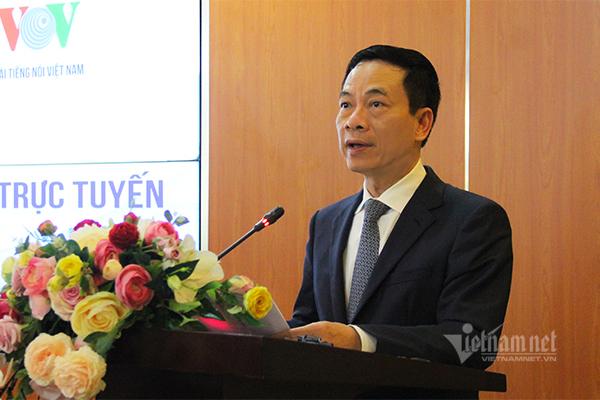 Toàn văn phát biểu của Bộ trưởng Nguyễn Mạnh Hùng tại ký kết hợp tác về ứng dụng VOV BACSI24