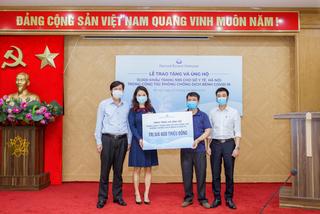 Pernod Ricard VN chung tay đồng hành cùng Việt Nam chống đại dịch covid 19