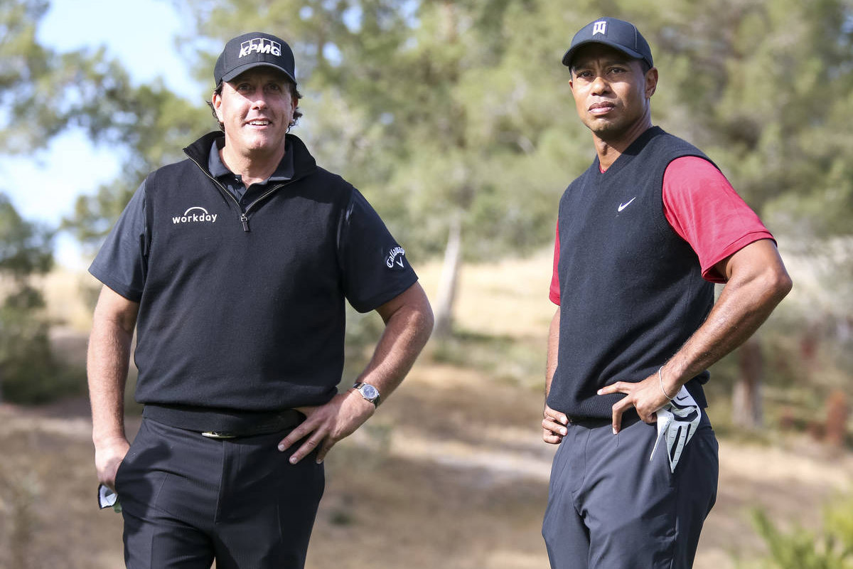 Tiger Woods so tài Mickelson, hỗ trợ chống Covid-19