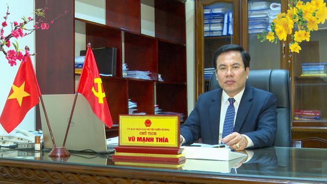 Thái Bình điều động 1 chủ tịch huyện, có vợ liên quan vụ Nguyễn Xuân Đường