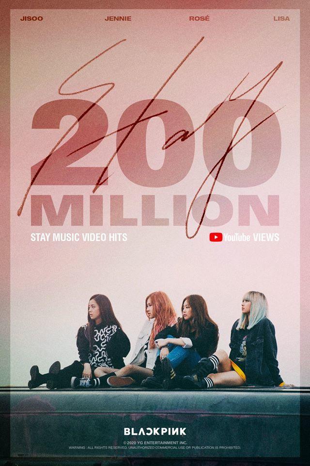 MV của 'Blackpink' đạt hơn 200 triệu lượt xem trên Youtube
