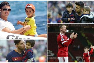 Những nhóc tì hot nhất làng bóng đá thế giới