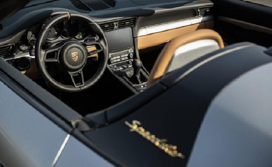 Đấu giá siêu xe Porsche 911 Speedster để hỗ trợ nạn nhân Covid-19