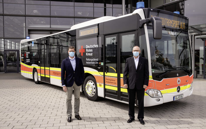 Mercedes-Benz Citaro trở thành xe cứu thương cho bệnh nhân Covid-19 lớn nhất thế giới