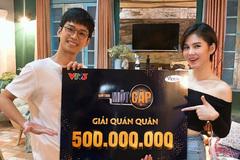 Thắng nửa tỷ, MC Thu Hoài gặp ngay Trần Nghĩa 'trả nợ'