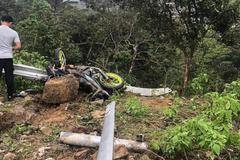 Danh tính 4 nạn nhân tử vong trong vụ ô tô lao xuống vực ở Tam Đảo