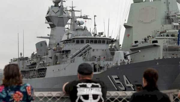 Uy lực chiến hạm Australia vừa được triển khai tới Biển Đông