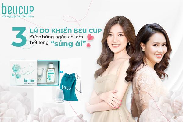 BeU Cup - cốc nguyệt san thiết kế dành riêng phụ nữ Việt