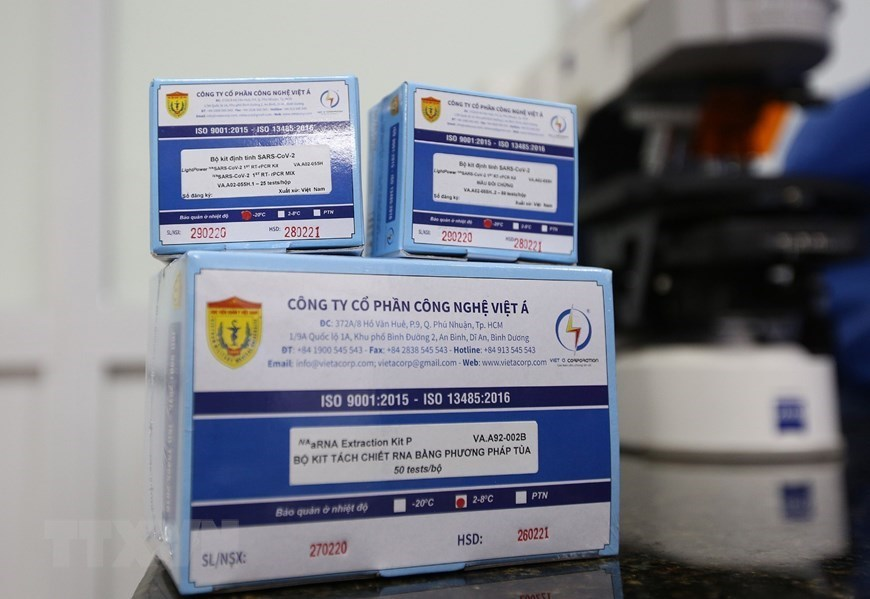 WHO, UK certify Vietnam's COVID-19 test kit