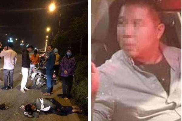 Tài xế nước ngoài say xỉn gây tai nạn liên hoàn ở Hà Nội