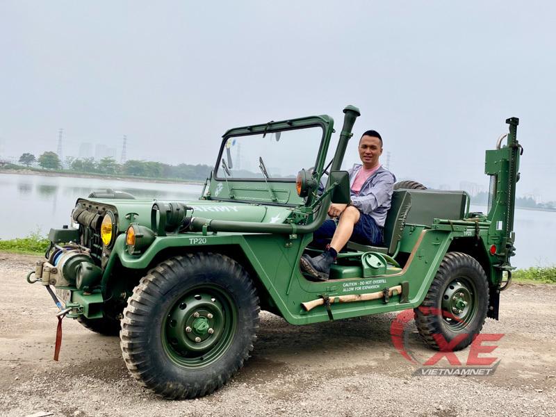 Săn xe Jeep cổ 50 năm tuổi, trả nửa tỷ đồng, chờ cả năm mới nhận xe