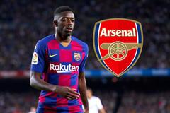 Arsenal tranh Ousmane Dembele với MU