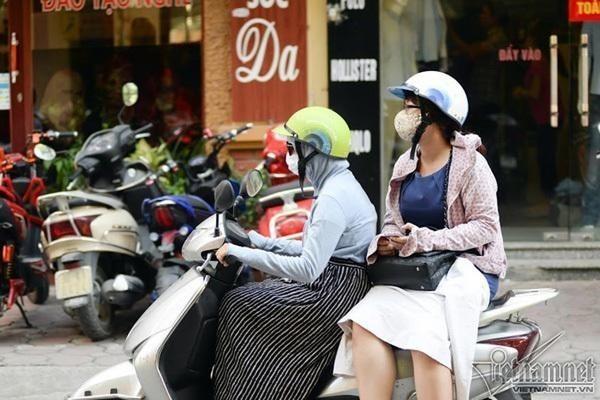 Dự báo thời tiết 28/4, Hà Nội tăng nhiệt