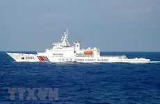 Foreign experts call China's actions in East Sea breaches of international law