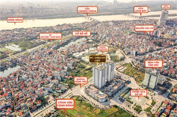 HC Golden City hưởng lợi từ quy hoạch cầu Trần Hưng Đạo