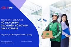 MB hỗ trợ chi phí giao nhận qua dịch vụ Grab Express